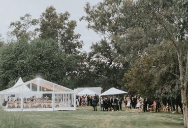marquee set up for weddings image